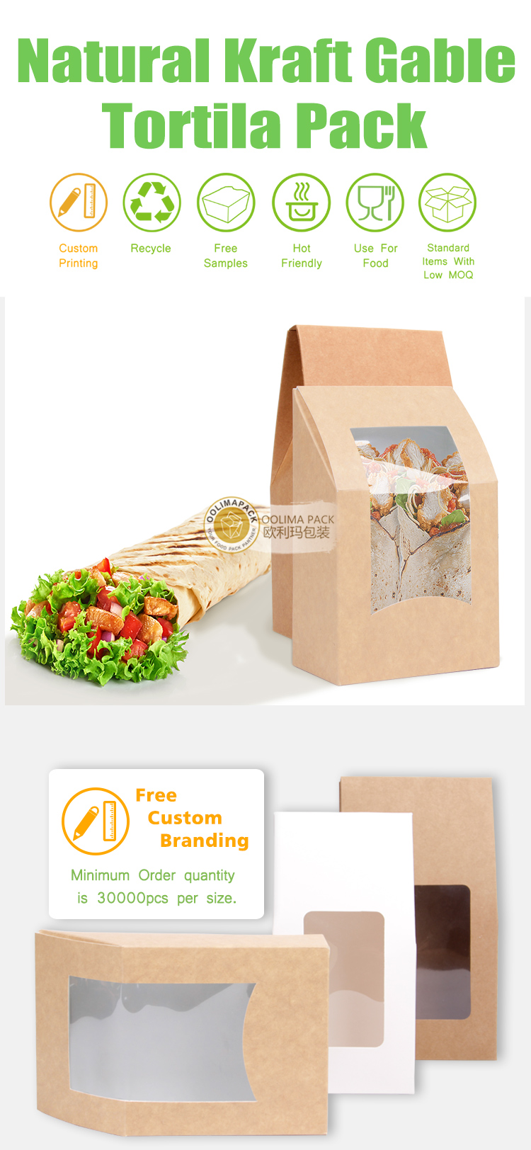 Triangle cake box,white bakery box with window,triangle sandwich box for packaging