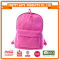 2016 BSCI SEDEX audit canvas school backpack for children