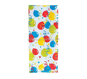 Happy Birthday Polka Dot , Balloon, Blossom, Cellophane Party Favor Treat Bags