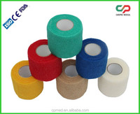 Latex Free Non woven Self Adhesive Bandage with ISO CE FDA