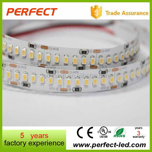 Flexible 24V 5 x 10mm Decorative IP67 3020 Amber LED Strip for christmas decorations outdoor