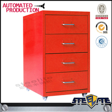 Factory price steel furniture ofice modular file cabinet office table 4 drawer under desk file cabinet