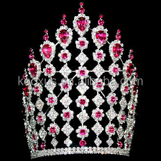 Large pageant crown