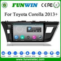 10 Inch Touch Screen Car Dvd Player For Toyota Corolla 2014 2015 With Bluetooth 3g Wifi