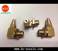 Brass Material of Corner Jet Spray Nozzle