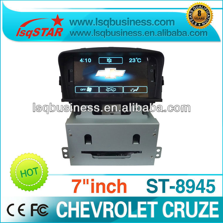 2 Din 7 inch chevrolet cruze car dvd player with gps navi, hot selling