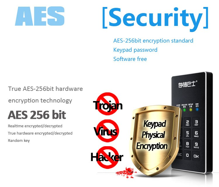 Datage 1.8INCH USB3.0 Pocket Encryption mSATA SSD Hard Drive