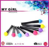 MY GIRL best synthetic makeup brushes made in china Custom logo make up case
