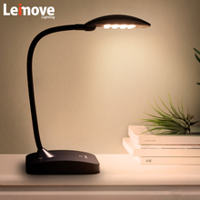 free shipping factory direct high lumen flexible led desk lamp table light with usb port