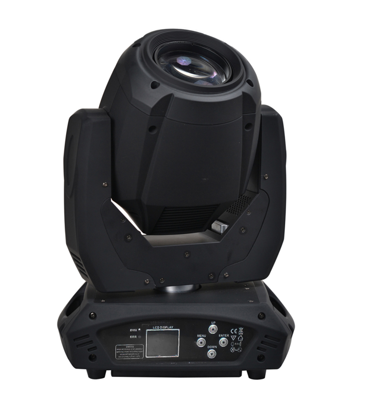 Cool effect double prisms gobo beam 200w moving head stage light