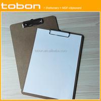Buy MDF A4/FC Clip Board/Metal Clip Board in China on Alibaba.com
