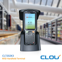 CLOU industrial Android 5.1 PDA with UHF reader and 1D/2D barcode collector
