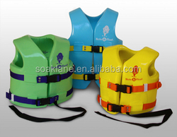 Low Price NBR Foam Life Jacket Super Soft Life Vest for Swimming Fishing Pool Sports OEM Size For Kids and Adults