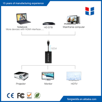 New ideas 2016 usb 3.0 to vga video graphic card display external cable adapter