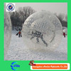 Sportful giant human hamster ball, land zorb ball can be played in snowfield