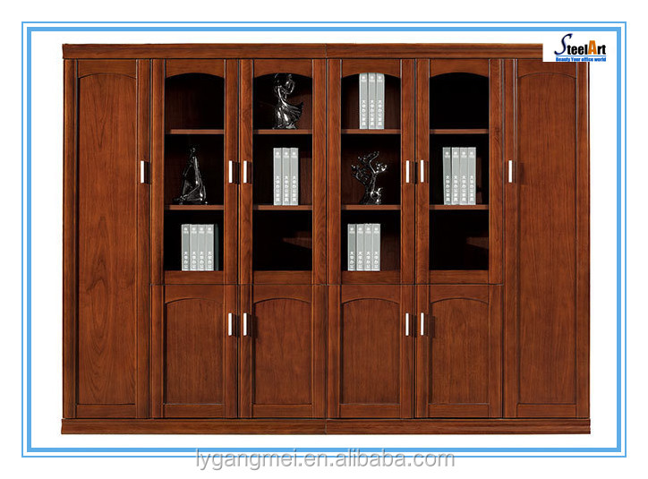Modern design office rack 6 doors wooden filing cabinet FEC K1024