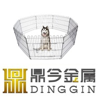 Cheap wire enclosures dog cage