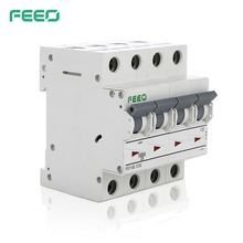 Free Sample FEEO FE7-63 Electrical Protection Mini Circuit Breaker AC 32 Amp 3 Phase 480 V MCB