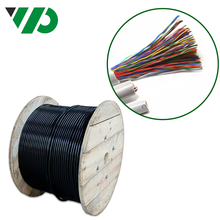 25 Pair CAT 6 Cable HYA 0.4mm Indoor and Outdoor Telephone Tape Shielded Twisted Pair Signal Data Cable