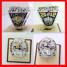 Custom Football Rings Baltimore Ravens 2012 Super Bowl championship rings