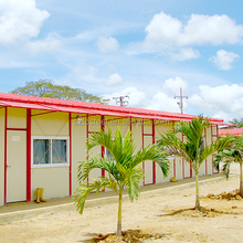 Prefabricated house labour camp/dorm/office