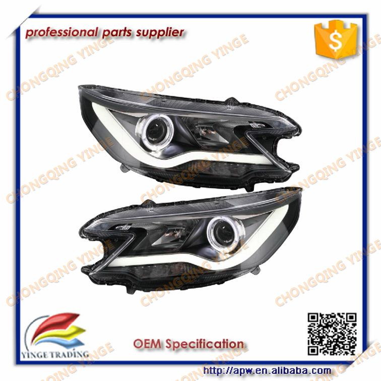 Beautiful U Style LED headlamp for Honda CRV 2012 LED Lamps