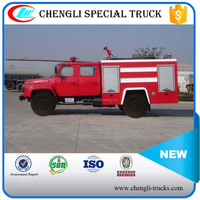Dongfeng 4*2 Right Hand Drive 4m3 Small Fire Fighting Foam Truck Fire Vehicle