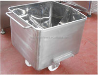 200L 304 Stainless steel meat mobile cart