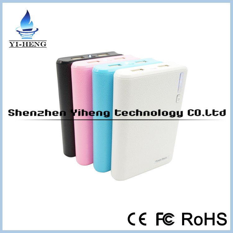 Fast charging wallet power bank 20000mAh mobile phone power bank charger wholesale