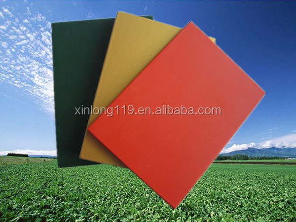 interior wall decoration boards Fluorocarbon paint board
