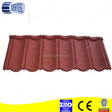 Cheap Price Colorful Sand Stone Coated Metal Roof Tile