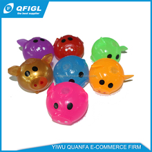 Wholesale TPR sticky inflatable water t ball toys for vending machine