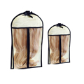 customized size garment bag for hair extension