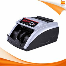 Money counter Bill counting fake money detector machine with MG UV detection