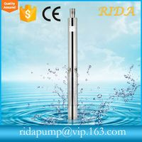 "RIDA TOP 1 2015 New design Cheap Globle selling Trade Assurance 220v/380v 4"" Qjd & 4sdm & Submersible Pumps hot sell"