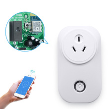 110V-250V Rated Voltage Wifi Control Australia Power Smart Plug