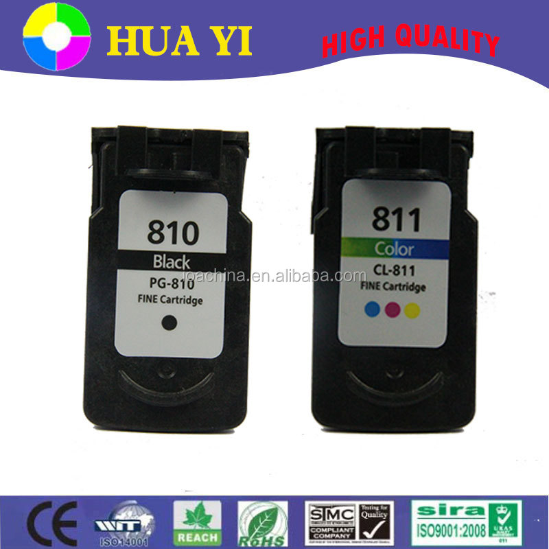 New compatible refillable ink cartridge for canon pg-810 cl-811