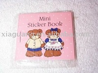 Fancy and Cute Self-adhesive Pocket sticker Mini Book