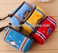 New Cylindrical/round canvas coin purse bag Small change pouch coin purse bag