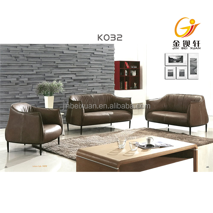 modern french style living room violino leather sofa set
