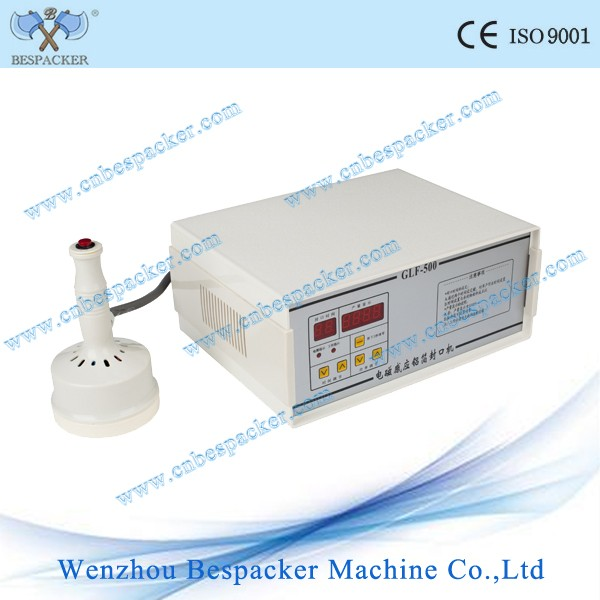 PET bottle heat induction sealer aluminum foil sealing machine