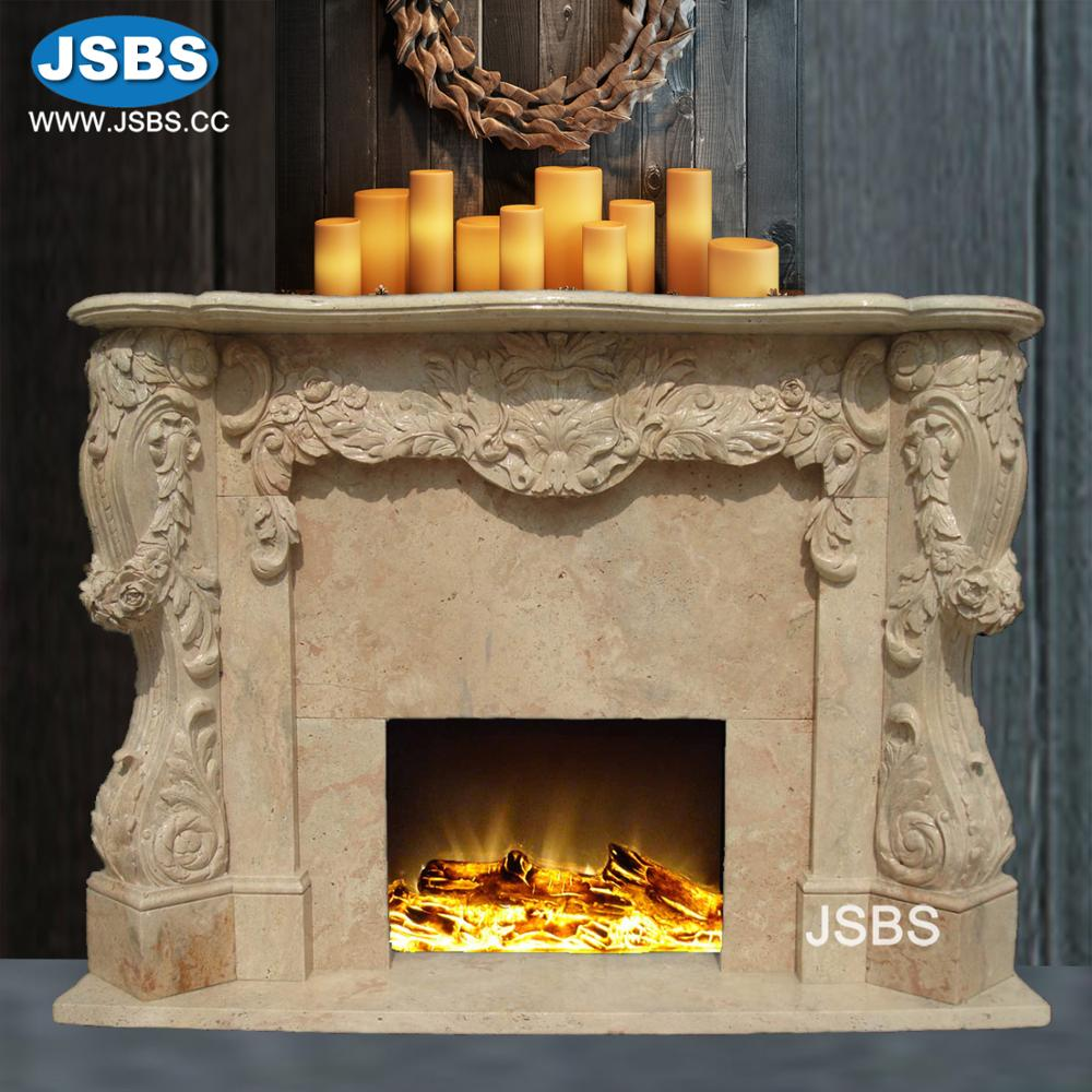 custom designed factory wholesale marble carved home decorating fire places