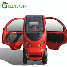 Luxury fully enclosed mobility cabin electric scooter outdoor fast mobility scooter