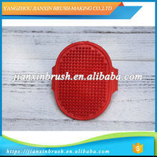 China Hot Sale Rubber dog massage comb