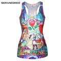 Most Popular Women Personalized Racerback Tank Top Custom Printed Loose Fit Workout