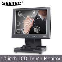 10 inch led touch display hdmi vga input module desktop tft lcd monitor