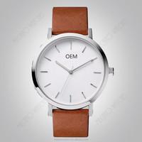 2016 Fashion Japan movement quartz watch men made in china with custom design