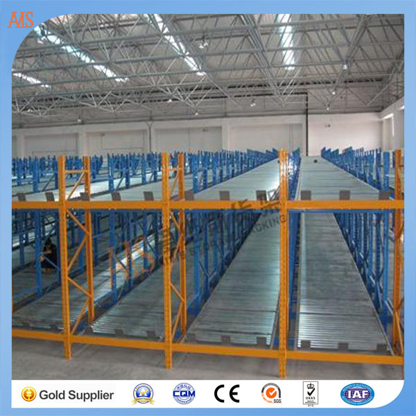 China best supplier suitable for perishable food storage FIFO metal gravity flow rack for warehouse