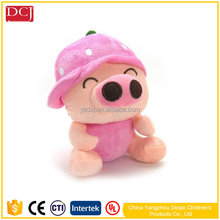 stuffed pig toy plush fruit animal mcdull for kids