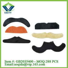 party playing set joke fake moustache and eyebrow